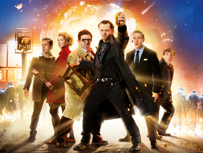 "Neuer deutscher Cornetto-Trailer: Simon Pegg und Nick Frost in ""The World's End"""