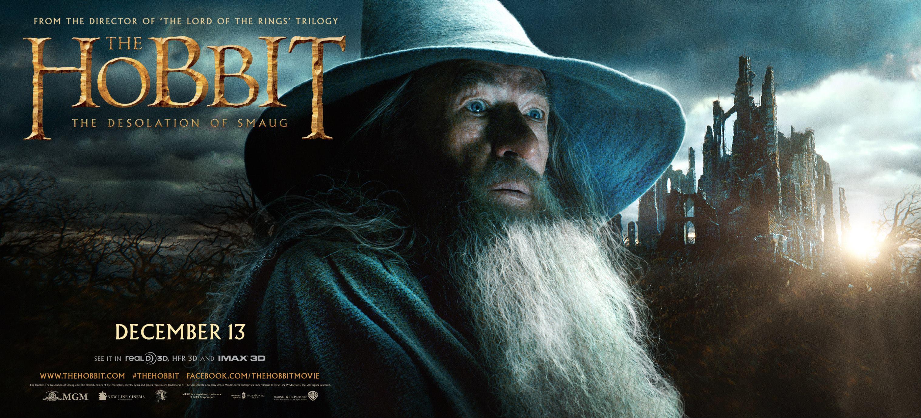 """Vor der Trailer-Premiere: 4 neue Banner zu """"Der Hobbit – Smaugs Einöde"""""""