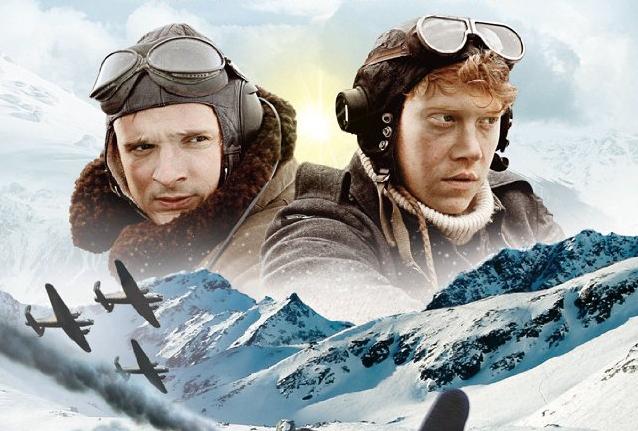 """Filmkritik: Nazis schließen Freundschaft mit den Briten in """"Into the White"""" mit Rupert Grint"""