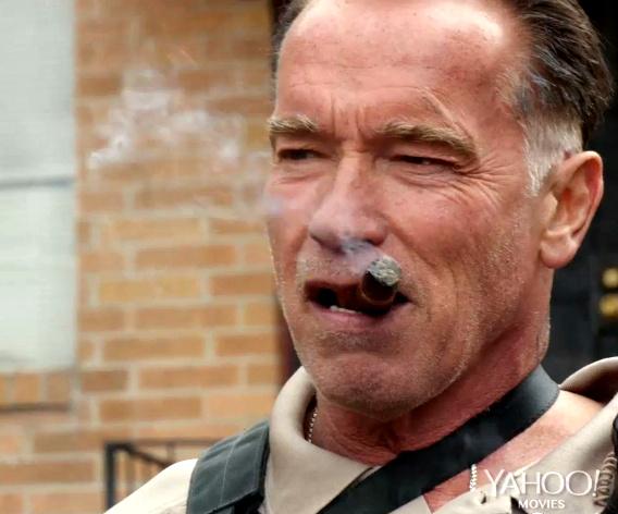 """Zigarre rauchender Arnold Schwarzenegger im ersten bombastischen Trailer zu """"Sabotage"""""""