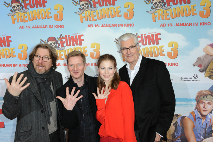 """Fünf Freunde 3 – Bilder aus der München-Premiere inklusive der """"Fünf Freunde"""""""