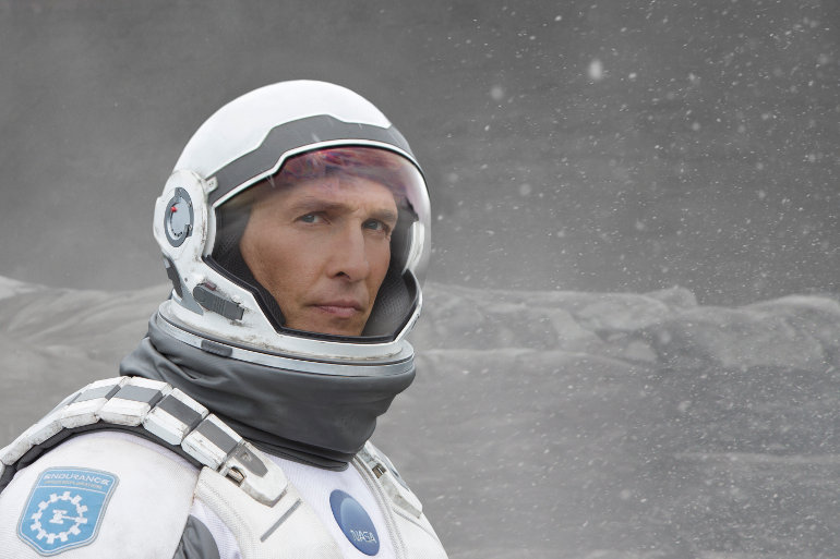 INTERSTELLAR, ©2014 WARNER BROS. ENTERTAINMENT INC. AND PARAMOUNT PICTURES CORPORATION