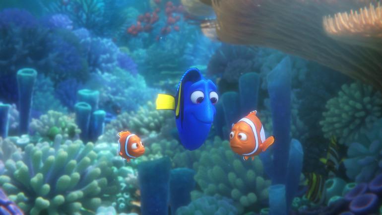 Findet Dorie, ©2016 Disney•Pixar. All Rights Reserved.