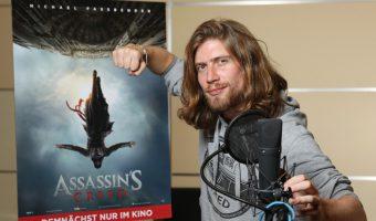 "Youtube-Star Sarazar übernimmt Synchronrolle im neuen Kinofilm ""Assassin's Creed"""