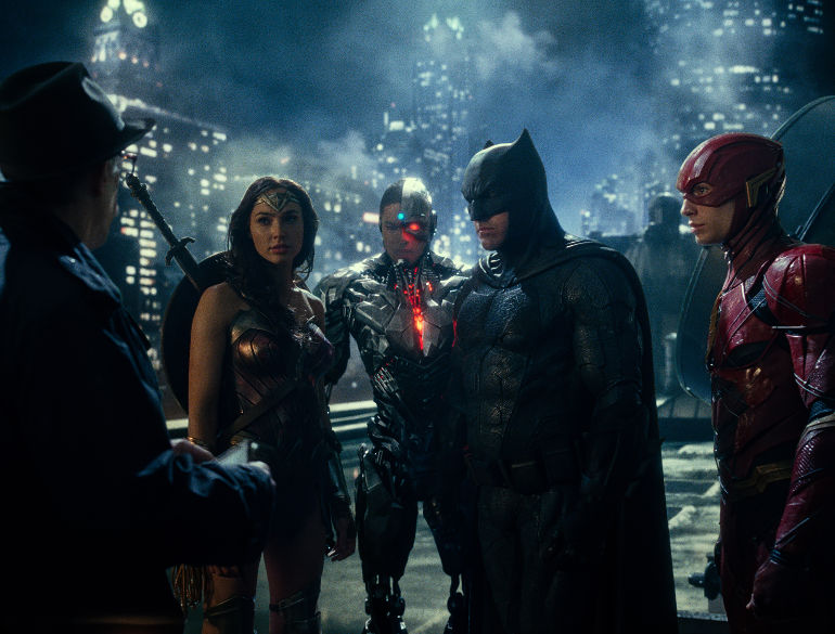 JUSTICE LEAGUE  Copyright: © 2017 WARNER BROS. ENTERTAINMENT INC. AND RATPAC-DUNE ENTERTAINMENT LLC  Photo Credit: Courtesy of Warner Bros. Pictures/ TM & © DC Comics