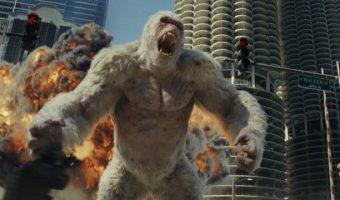 """Affenstarke Action im neuen Trailer zu """"Rampage"""" mit Dwayne Johnson"""