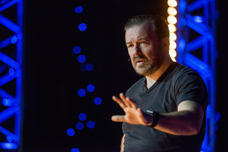 Ricky Gervais: Humanity, Ray Burmiston, Netflix