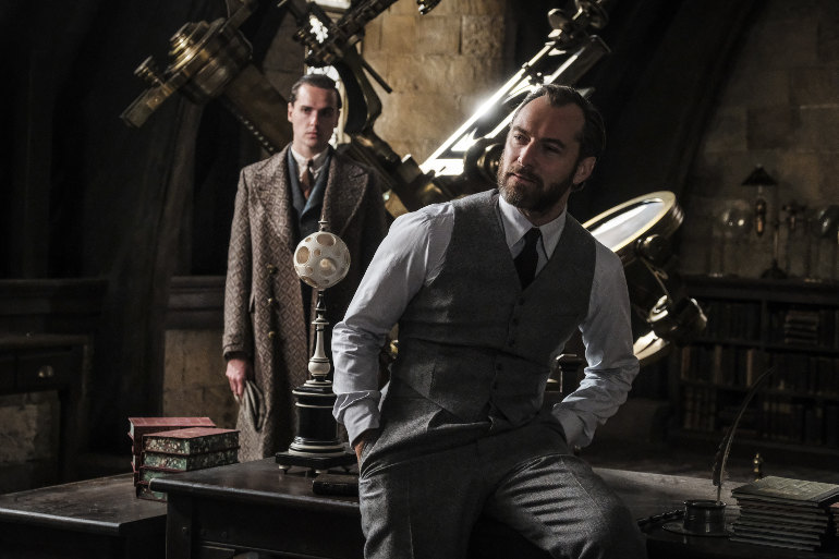 FANTASTIC BEASTS: THE CRIMES OF GRINDELWALD, Copyright: © 2017 WARNER BROS. ENTERTAINMENT INC., Photo Credit: Photo by Jaap Buitendij