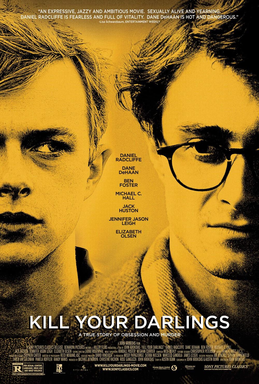 """Daniel Radcliffe und Dane DeHaan: Erstes Poster zum Biographie-Drama """"Kill Your Darlings"""""""