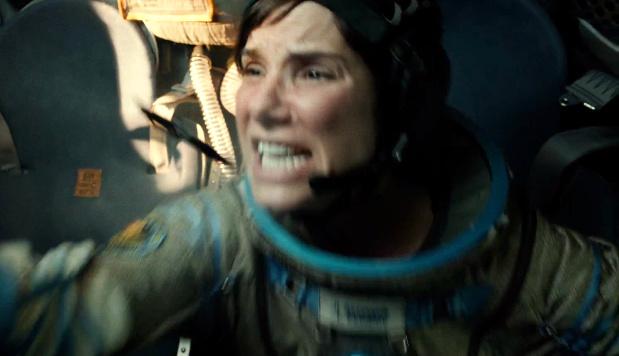 """Atemnot und Verzweiflung im finalen """"Gravity""""-Trailer mit Sandra Bullock und George Clooney"""