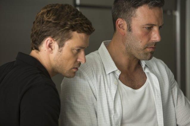 """Werbung: Justin Timberlake bekommt es mit machtgierigen Ben Affleck in """"Runner Runner"""" zu tun"""