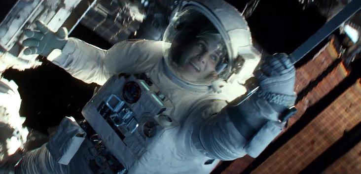 """Horrortrip im Weltraum: Finaler deutscher Trailer zu """"Gravity"""" mit George Clooney und Sandra Bullock"""