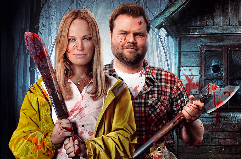 """Tucker & Dale vs Evil""-Star Tyler Labine mordet in der schwarzen Komödie ""Cottage Country"""