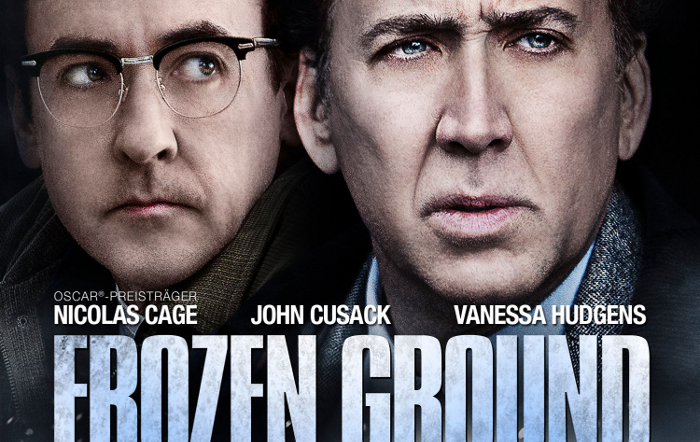 "Nicolas Cage jagt John Cusack: Erster deutscher Trailer zum Thriller ""The Frozen Ground"""