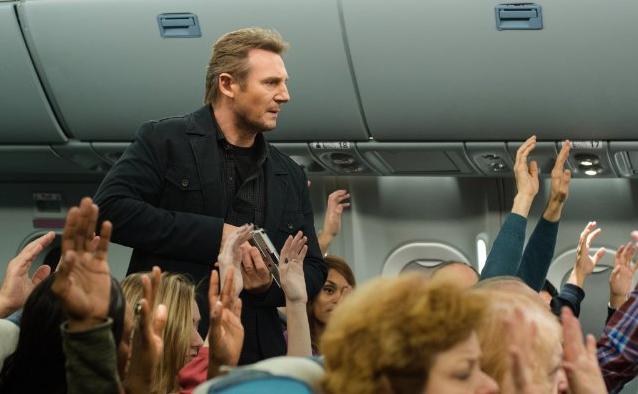 """Deutscher Trailer sowie das deutsche Poster zum neuen Thriller """"Non-Stop"""" mit Liam Neeson"""
