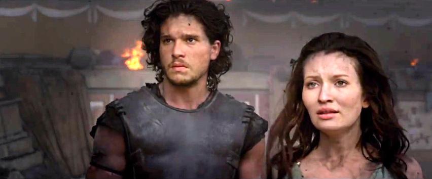 """""""Game of Thrones""""-Star Kit Harington durchlebt Vulkanausbruch: Deutscher Trailer zu """"Pompeii"""""""