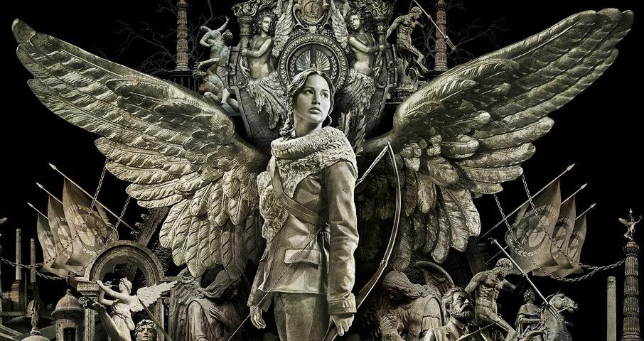 """Jennifer Lawrence mit emporragenden Flügeln: Neues Poster zu """"Die Tribute von Panem 2"""""""