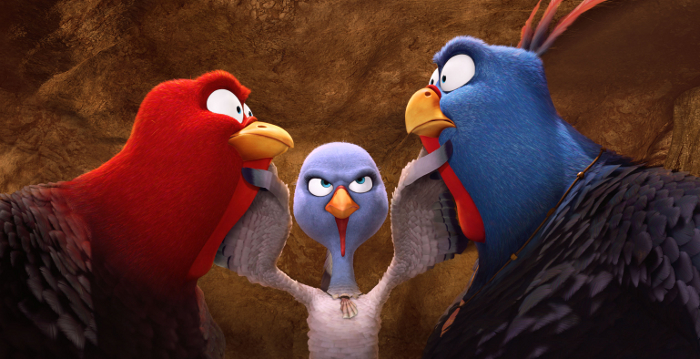 """Thanksgiving? Nicht mit uns! Erster deutscher Trailer zum Truthahn-Abenteuer """"Free Birds"""""""