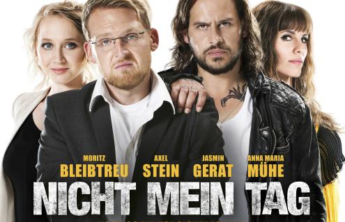 Nicht mein Tag – Erster langer Trailer zur neuen Komödie mit Axel Stein und Moritz Bleibtreu