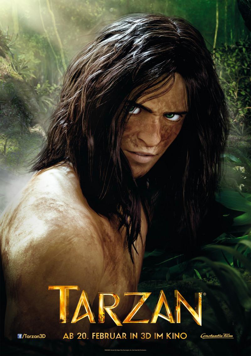 """Dschungelleben: 4 neue deutsche Figuren-Poster zu """"Tarzan 3D"""""""