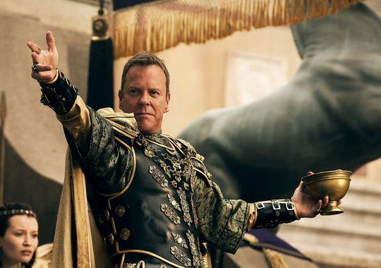 """Neue Bilder aus dem Action-Abenteuer """"Pompeji 3D"""" zeigen erstmals Kiefer Sutherland"""