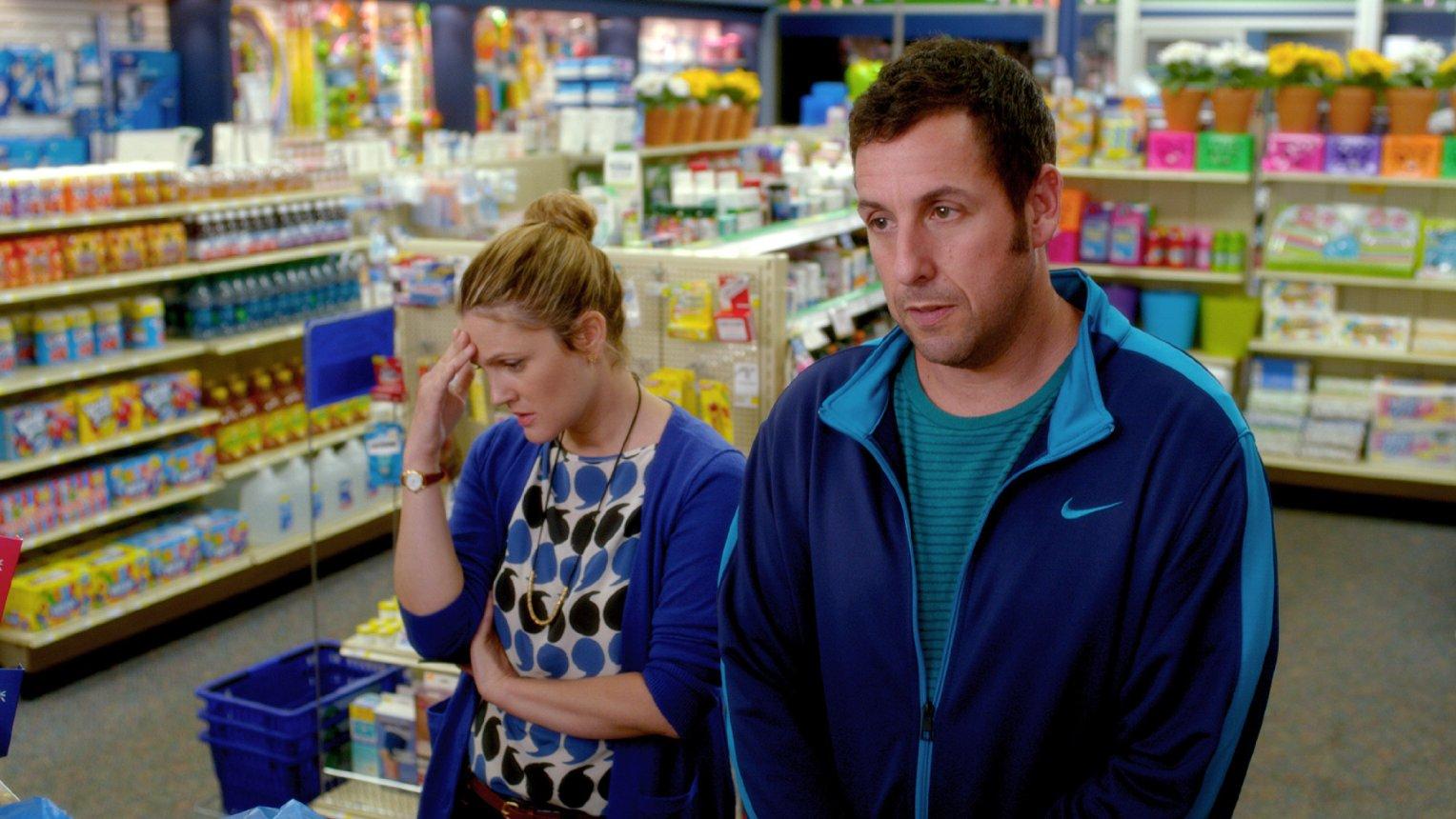 """Deutscher Trailer: Adam Sandler und Drew Barrymore sind """"Urlaubsreif"""""""