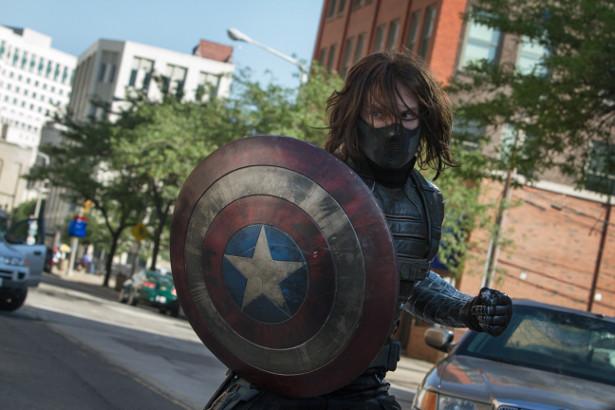 "Werbung: Bitterer Kampf – Captain America und der Winter Soldier in ""The Return of the First Avenger"""