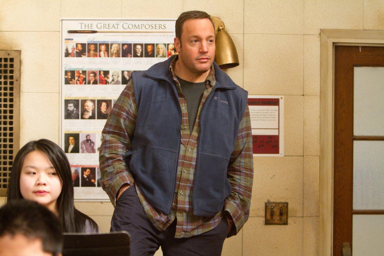 Kevin James ist demnächst im Krieg, als Cop und als Pixel im Kino zu sehen