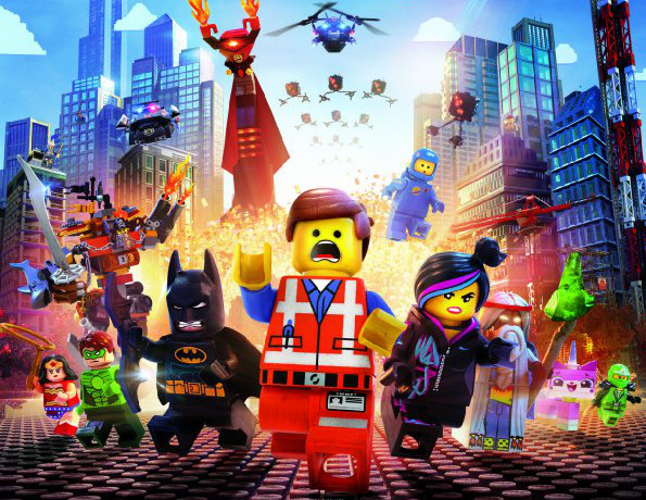 Kinostarts 10. April 2014: LEGO erobert das Kino mit Batman und Superman!