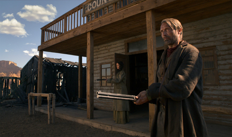 "Erster Trailer: Mads Mikkelsen auf Rachezug im wilden Westen in ""The Salvation"""