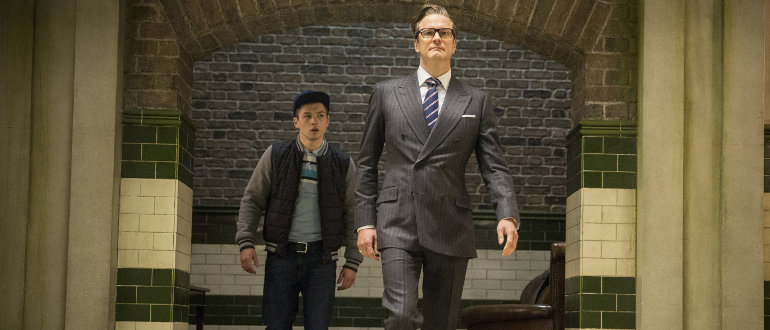 Kingsman: The Secret Service, © 2014 Twentieth Century Fox
