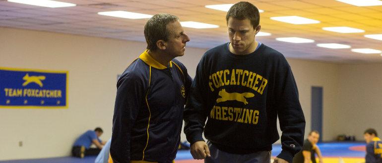 """Deutscher Trailer zu """"Foxcatcher"""": Channing Tatum trifft auf finsteren Steve Carell"""