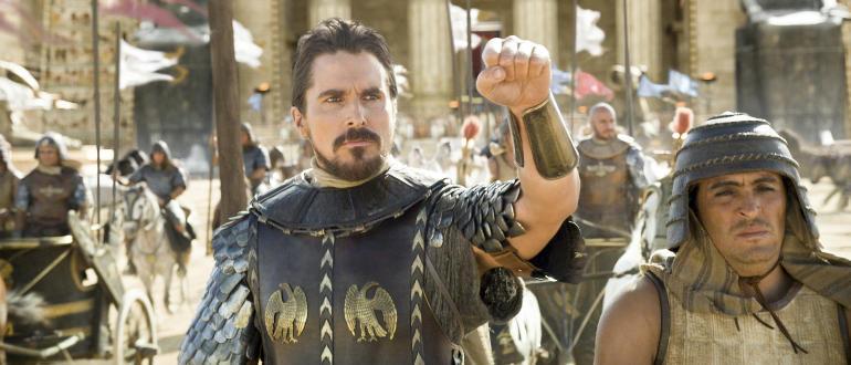 """Gesponsertes Video: Christian Bale strebt nach Freiheit in """"Exodus: Götter und Könige"""""""