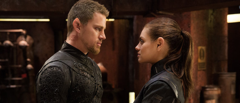 Jupiter Ascending, Copyright: © 2015 WARNER BROS. ENT. INC., VILLAGE ROADSHOW FILMS NORTH AMERICA INC. AND RATPAC-DUNE ENT. LLC - U.S., CANADA, BAHAMAS & BERMUDA © 2015 WARNER BROS. ENT. INC., VILLAGE ROADSHOW FILMS (BVI) LIMITED AND RATPAC-DUNE ENT. LLC - ALL OTHER TERRITORIES, Photo Credit: Murray Close