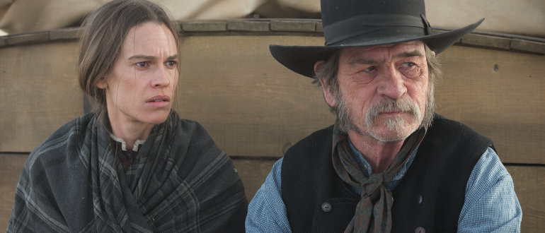 "Filmkritik zu ""The Homesman"": Tommy Lee Jones und Hilary Swank inmitten des Wilden Westen"