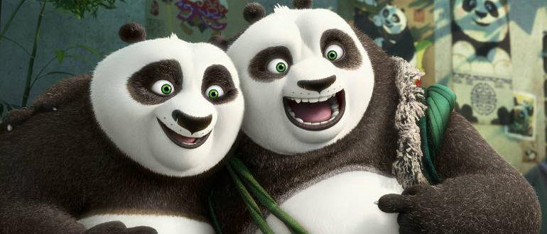 """Wieder vereint: Po trifft seinen Vater – im ersten deutschen Trailer zu """"Kung Fu Panda 3"""""""