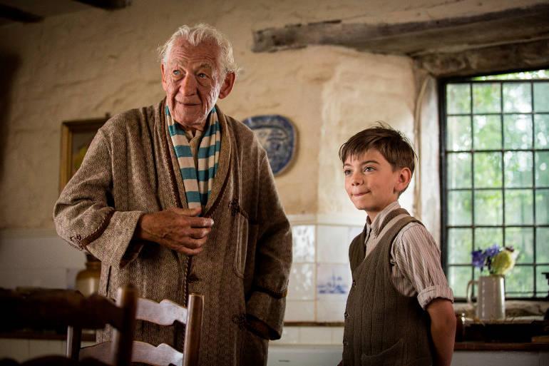 """""""Mr. Holmes"""": Ian McKellen als gealterten Sherlock Holmes im ersten deutschen Trailer"""