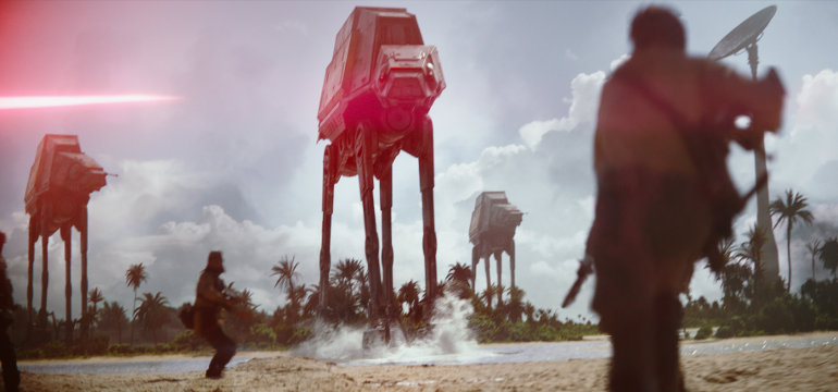 "Erster deutscher Trailer zum ""Star Wars""-Spin-Off ""Rogue One: A Star Wars Story"""