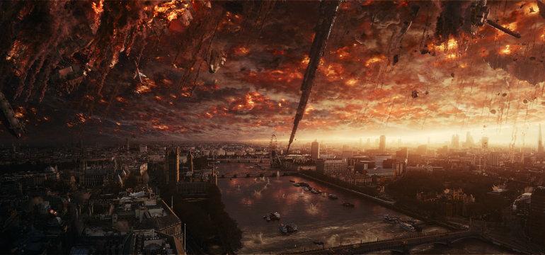 """Alien-Rückkehr im neuen bildgewaltigen deutschen Trailer zu """"Independence Day 2: Wiederkehr"""""""