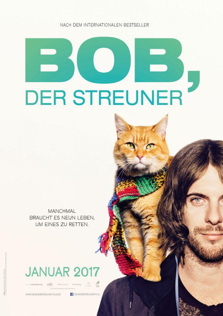Bob, der Streuner, © 2016 Concorde Filmverleih GmbH