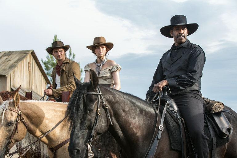 """""""Die glorreichen Sieben"""": Neuer deutscher Trailer zum Western-Actioner mit Denzel Washington"""