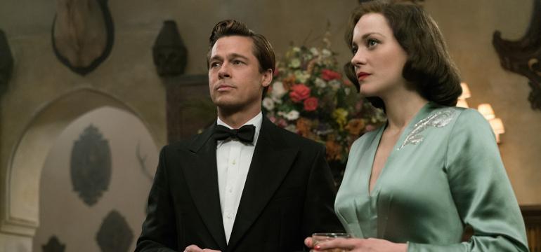 """Werbung: Zwischen Liebe und Krieg – Neuer Trailer zu """"Allied: Vertraute Fremde"""" mit Brad Pitt"""