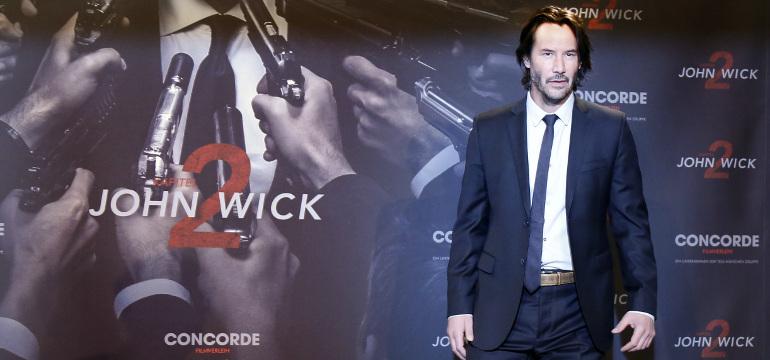 Social Movie Night: Keanu Reeves begeistert Berlin