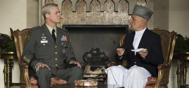 """Erster Teaser Trailer zum Netflix Original Film """"War Machine"""": Brad Pitt als General in neuer Kriegssatire"""