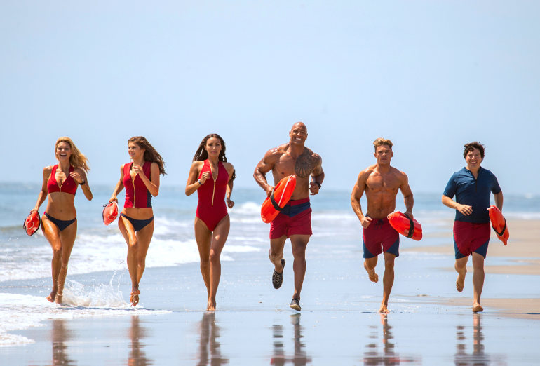 "Kinostarts 1. Juni 2017: Dwayne Johnson und Zac Efron in ""Baywatch"""