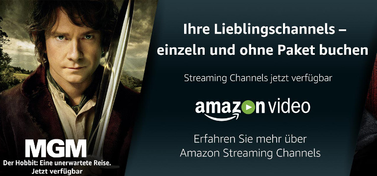 Neues riesiges Streaming-Angebot mit Amazon Channels: Von Live-Sport bis Blockbuster-Filme