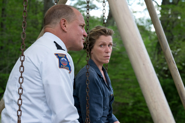 "Kinostarts 25. Januar 2018: Golden Globes-Abräumer ""Three Billboards Outside Ebbing, Missouri"""