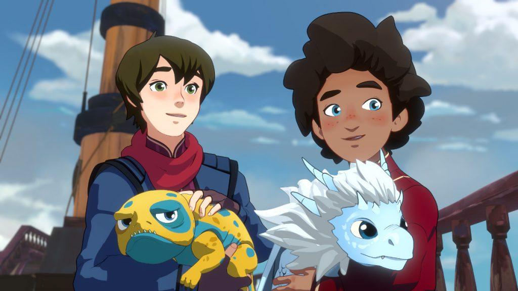 Der Prinz der Drachen – Staffel 2, Netflix