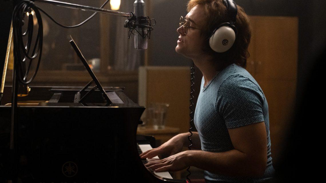 """Rocketman"": Taron Egerton singt als Elton John im ersten Teaser"