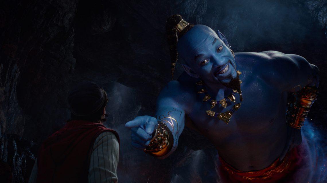 """""""Aladdin"""": Neuer Kinospot zeigt Will Smith als Flaschengeist Genie"""